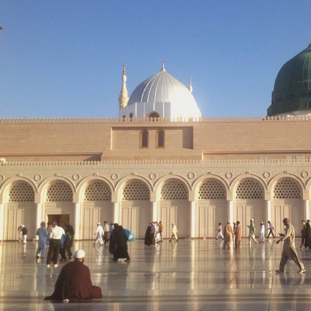 Morrning at Nabawi